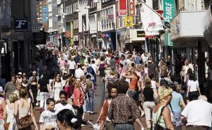 winkelend-publiek